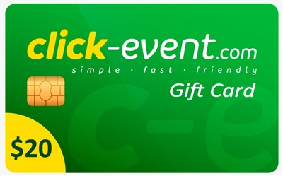 1.- Click Event Gift Card 20