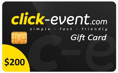 4.- Click Event Gift Card 200