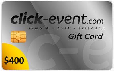 6.- Click Event Gift Card 400